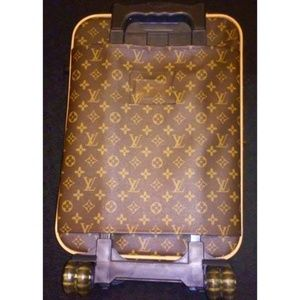 LOUIS VUITTON Carry Bag Luggage Roller